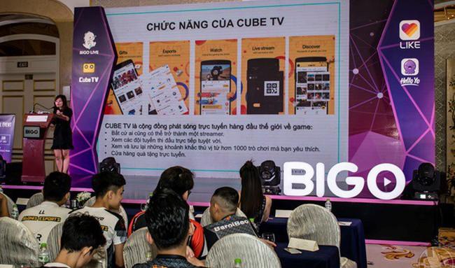 BIGO giới thiệu ứng dụng di động phát trực tiếp Cube TV
