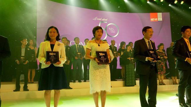 Công ty Phát Đạt (PDR) vào Top 50 công ty kinh doanh hiệu quả nhất Việt Nam 2018