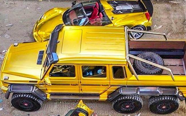 Hội con nhà giàu trên thế giới khoe siêu xe như thế nào?