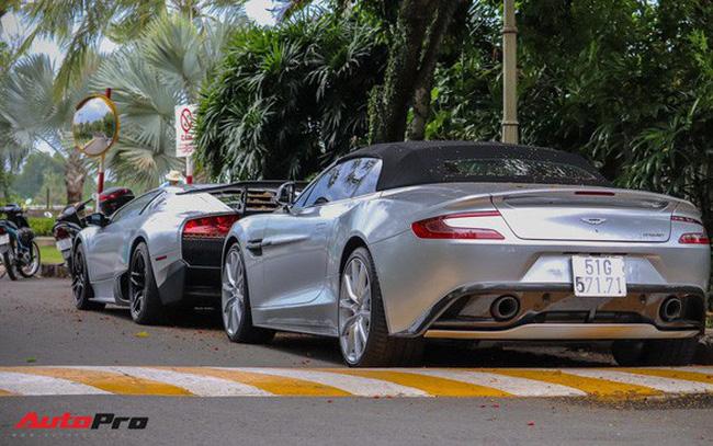Trước hành trình siêu xe, ông chủ cafe Trung Nguyên tậu thêm Aston Martin Vanquish Volante duy nhất tại Việt Nam