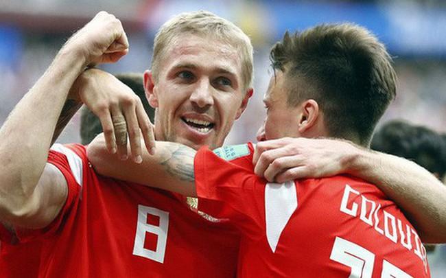 """""""Đè bẹp"""" Saudi Arabia, Nga lập một kỷ lục, san bằng hàng loạt cột mốc World Cup"""
