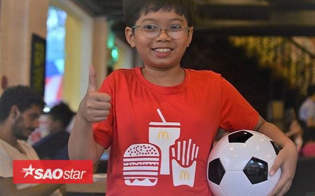 Cậu bé Việt duy nhất được xuất hiện trong chung kết World Cup: 'Mê nhất chú Messi'