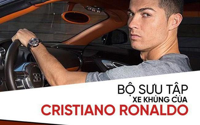 [Photo Story] Người hùng World Cup Cristiano Ronaldo đang sở hữu những xe khủng nào?