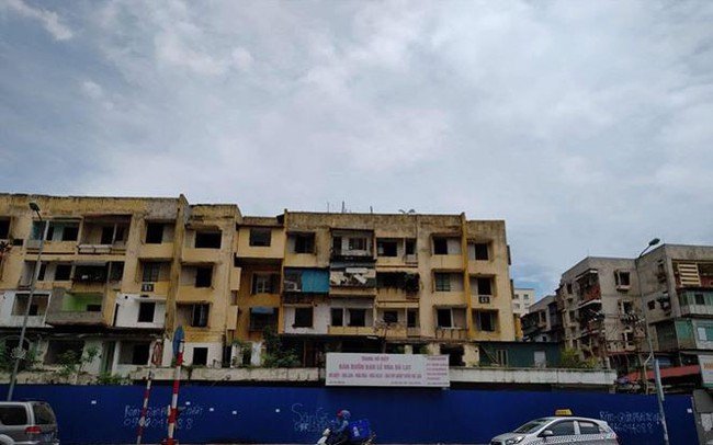 7 năm không cải tạo xong 1 chung cư cũ