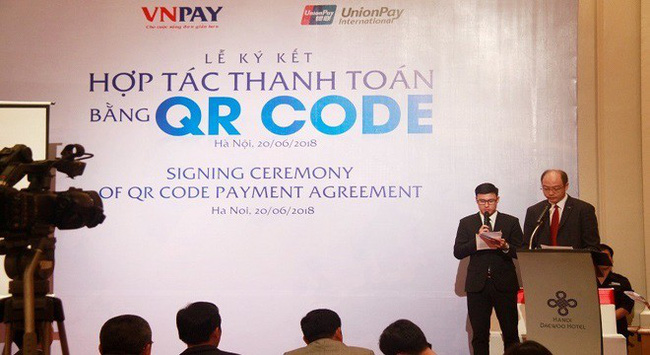 UnionPay bắt tay VNPAY phát triển thanh toán QR CODE tại Việt Nam