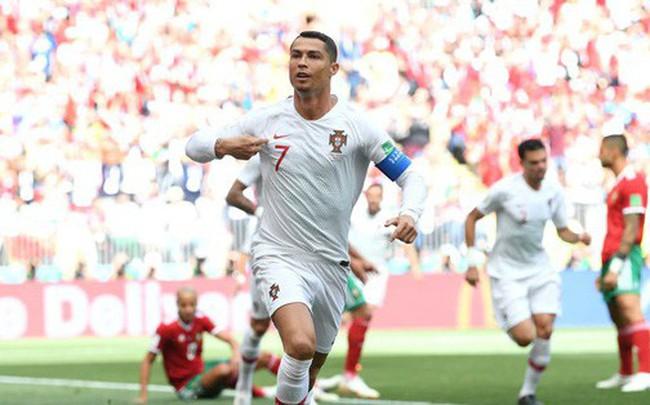 Ronaldo phá thêm một kỷ lục sau bàn thắng vào lưới Morocco