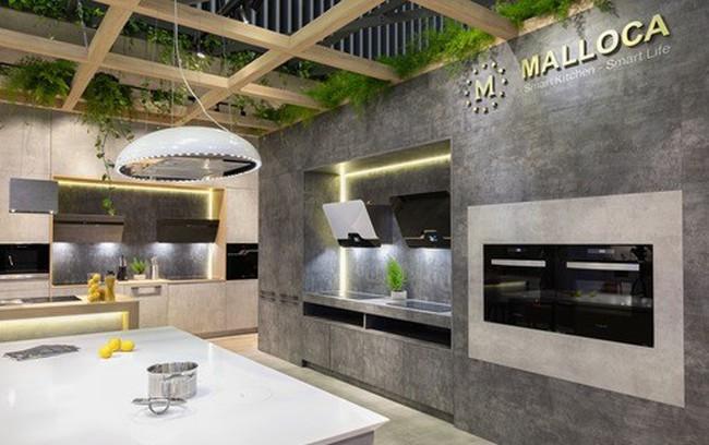 Thiết bị bếp Malloca mang công nghệ 4.0 đến Vietbuild HCM 2018