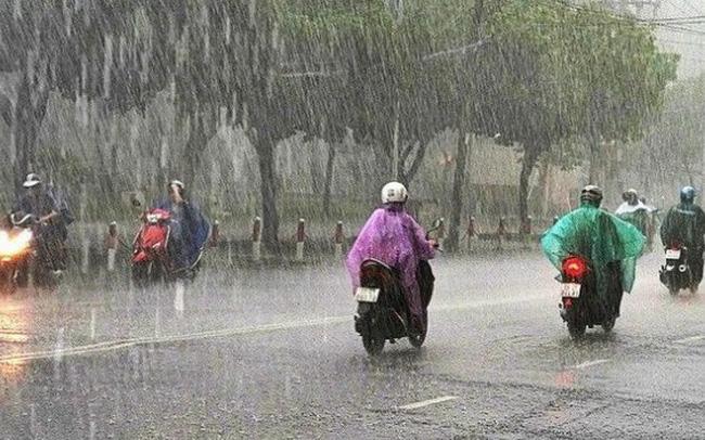 Bắc Bộ tiếp tục có mưa rào và dông diện rộng