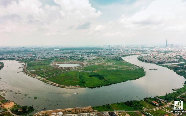 Ngổn ngang dự án khu đô thị 2 tỷ USD ven bờ sông đẹp nhất Sài Gòn sau gần 10 năm đầu tư