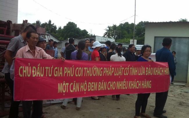 Hàng chục nạn nhân mua nhà của Công ty Gia Phú cầu cứu Bí thư Nguyễn Thiện Nhân