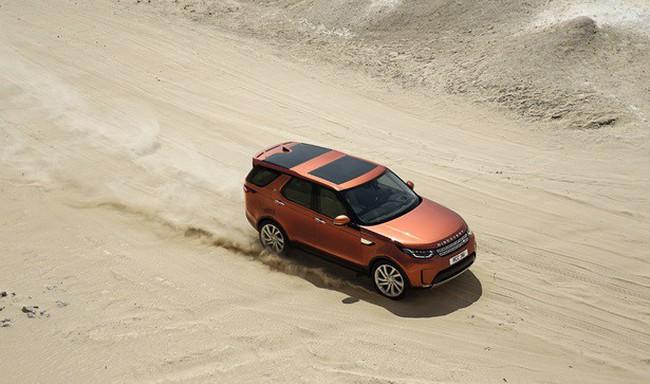Land Rover Discovery – Thách thức mọi giới hạn