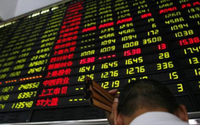 Cổ phiếu Trung Quốc niêm yết ở Hồng Kông cũng bị bán tháo