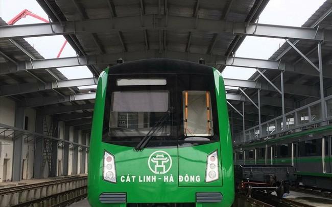 """EVN Hà Nội đã """"đóng điện"""" cho dự án đường sắt đô thị Cát Linh – Hà Đông từ ngày 15/6/2018"""