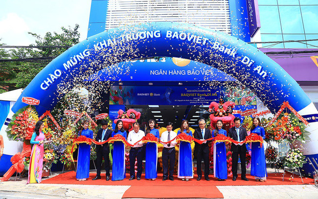 BAOVIET Bank khai trương phòng giao dịch mới tại Bình Dương