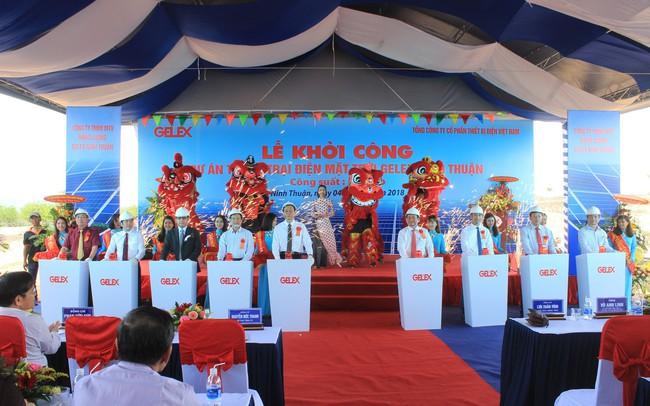 Gelex khởi công dự án Trang trại Điện mặt trời Gelex Ninh Thuận nghìn tỷ, sẵn sàng cho cuộc đua tăng trưởng mới