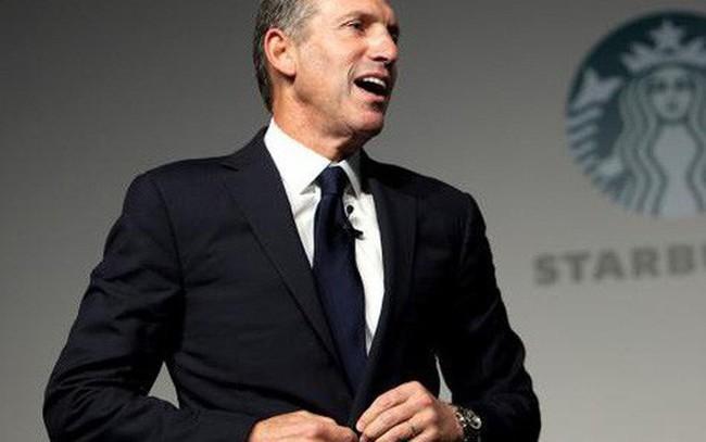 Sau hơn 30 năm phát triển Starbucks từ 11 lên 28.000 cửa hàng khắp thế giới, chủ tịch Howrad Schultz chính thức nghỉ hưu