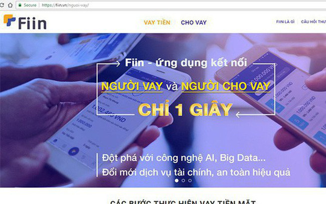 "NextTech tính kiện start-up FIIN vì ""giống"" Vaymuon.vn"