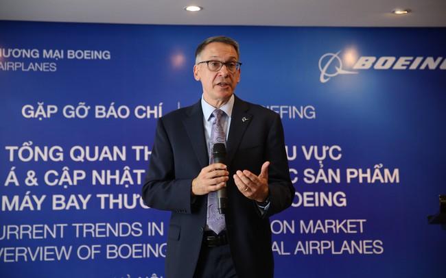 Phó Chủ tịch Boeing: Năm 2018, thị trường hàng không Việt Nam sẽ tăng trưởng ngoạn mục