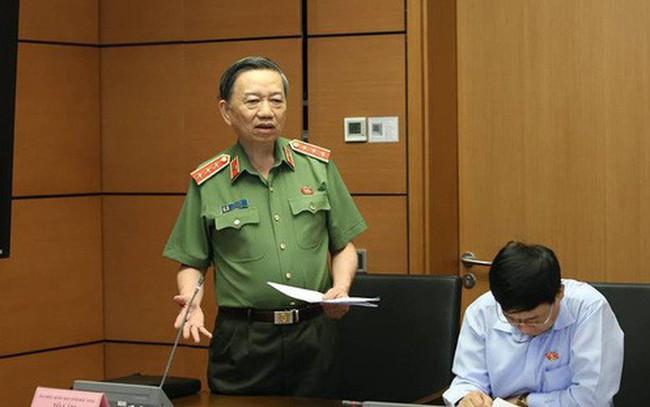 Bộ trưởng Công an: Sửa luật cũng không quá 205 tướng