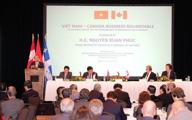 Thủ tướng kỳ vọng một làn sóng đầu tư mới của Canada vào Việt Nam