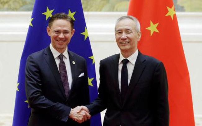 Trung Quốc hối thúc châu Âu thành lập liên minh chống lại Mỹ trên mặt trận thương mại