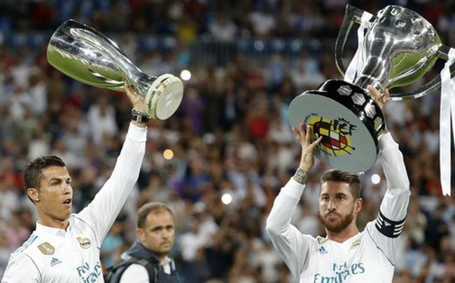 Ramos, Kroos, Bale gửi thông điệp từ biệt Ronaldo