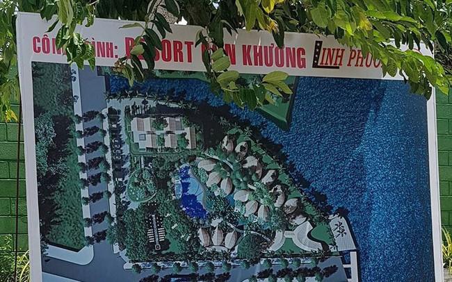 Cận cảnh 'đại' công trình Resort lấn chiếm sông Hậu