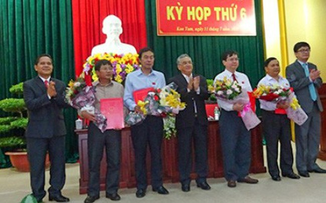 Nguyễn Hữu Tháp được bầu làm Phó Chủ tịch UBND tỉnh Kon Tum