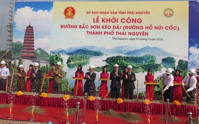 Xuân Trường khởi công xây dựng con đường hơn 2.000 tỷ dẫn đến siêu dự án Hồ Núi Cốc