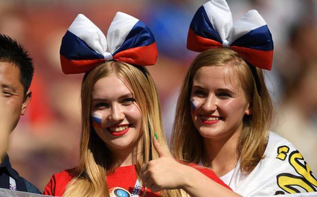 Tột cùng vui sướng, người Nga mơ về ngôi vô địch World Cup 2018