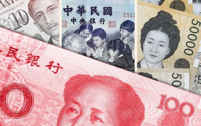 Nhân dân tệ giảm mạnh khiến toàn bộ cục diện thị trường tiền tệ châu Á thay đổi