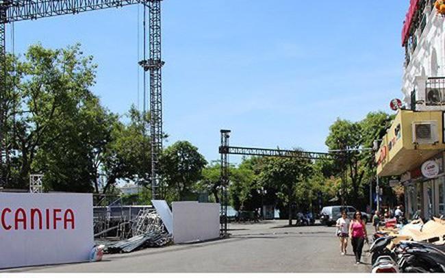"""Nắng nóng kỷ lục, đường phố Hà Nội vắng như """"chùa Bà Đanh"""""""