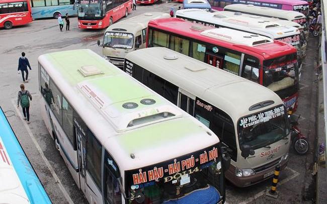 Điều chỉnh lộ trình xe khách từ 9 tỉnh đi và đến Hà Nội