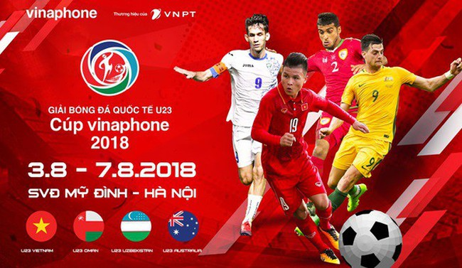 VNPT trở thành nhà tài trợ chính cho Giải bóng đá quốc tế U23 2018