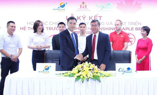 Sunshine Group và Maple Bear toàn cầu đẩy mạnh hợp tác toàn diện