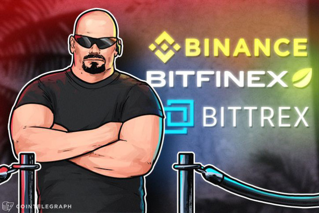 Nhà đầu tư sẽ không thể lập tài khoản mới trên 3 sàn giao dịch lớn Binance, Bitfinex, Bittrex
