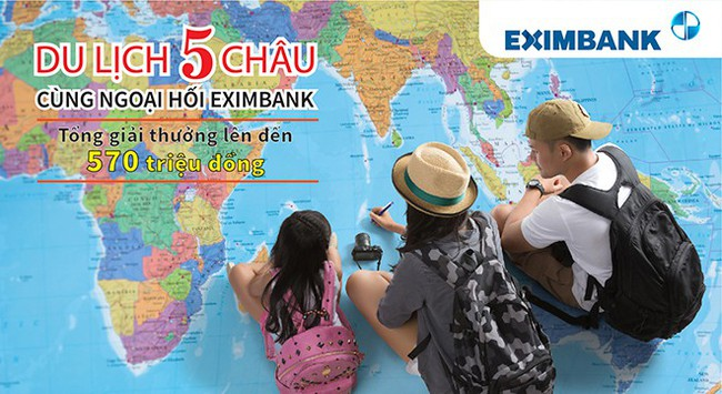 """Eximbank triển khai chương trình khuyến mãi """"Du lịch năm châu cùng ngoại hối Eximbank"""""""