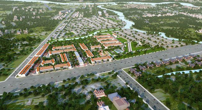 Tâm điểm đất nền giáp ranh Nam Sài Gòn