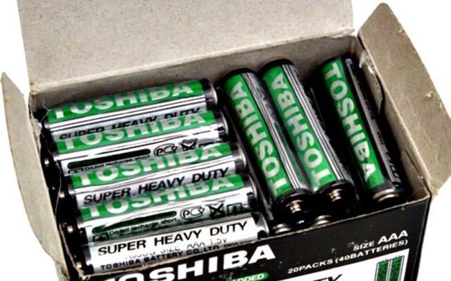 Hàng nghìn sản phẩm giả mạo nhãn hiệu Toshiba, Maxell bị tiêu hủy