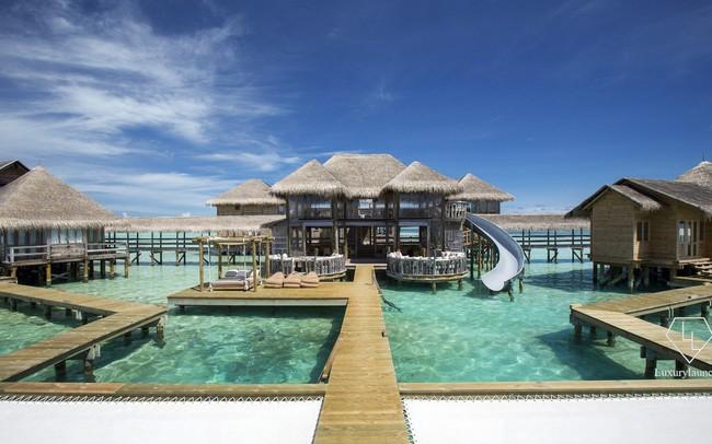 """Điểm tên 5 biệt thự nổi trên mặt nước hấp dẫn nhất ở """"thiên đường hạ giới"""" Maldives"""