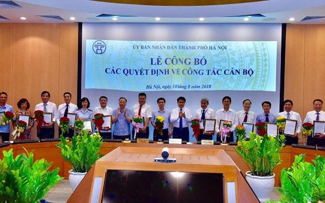 Hà Nội bổ nhiệm hàng loạt Giám đốc, Phó giám đốc Sở