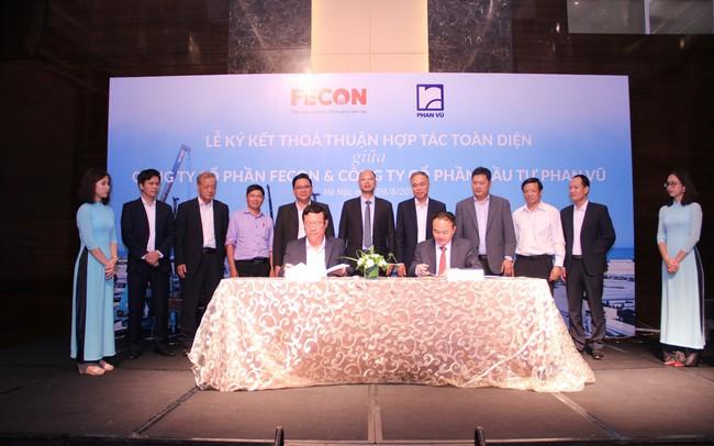 FECON bắt tay với đơn vị sản xuất cọc móng lớn nhất Việt Nam