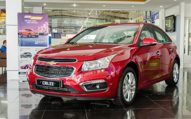Chevrolet Cruze, Captiva và Orlando âm thầm bị khai tử tại Việt Nam?