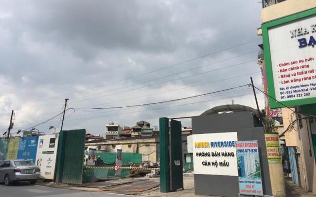 Hà Nội: Dự án Amber Riverside thi công gây lún, nứt nhà dân