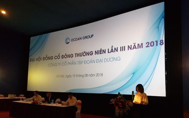 ĐHĐCĐ Ocean Group (OGC): Miễn nhiệm vị trí thành viên HĐQT của ông Hà Trọng Nam, bầu bổ sung thành viên mới