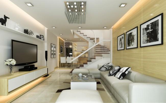 Giải pháp thiết kế nội thất nhà ống hiện đại
