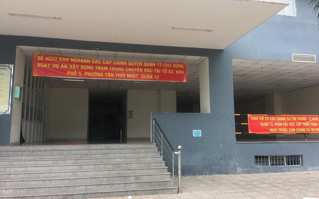 Dự án rác thải xây dựng sát bên cạnh, cư dân chung cư Tín Phong kêu cứu