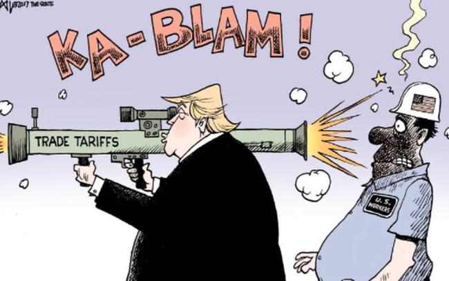 """Chính Mỹ phát động chiến tranh thương mại nhưng đang chịu cảnh """"gậy ông đập lưng ông""""?"""