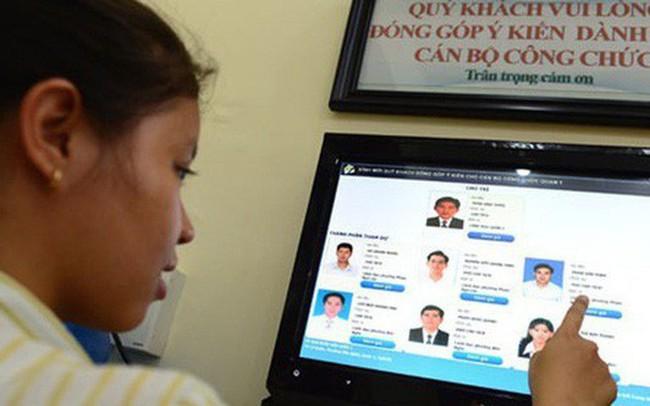 Trình Chính phủ đề án cơ sở dữ liệu cán bộ, công chức trong quý 3/2018