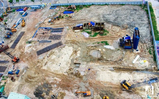 Nhà thầu thi công dự án tháp đôi 50 tầng tại Đà Nẵng có thể bị phạt 700 triệu đồng do lén xả thải ra biển